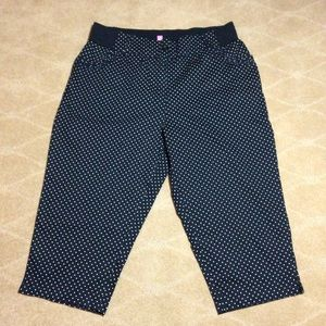 Woman Within NWOT Tummy Tamer Capris, 20W